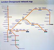the new Overground network