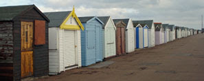 Shoebury Common beach huts