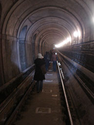 Thames Tunnel guided tour
