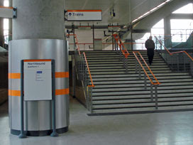 Shoreditch High Street ticket hall