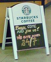Starbucks, St Pancras