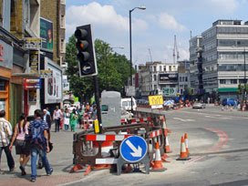 HS2012 starts here-ish (Whitechapel High Street)