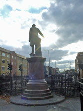 Gladstone statue, Bow Road