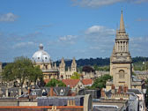view from Carfax tower
