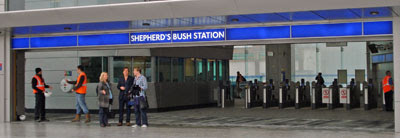 Shepherd's Bush entrance