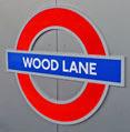 Wood Lane roundel
