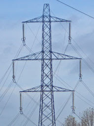 Hackney Marshes pylon droop