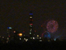 New Year 2009 from Primrose Hill