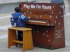 Paternoster Square piano