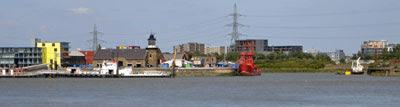 Trinity Buoy Wharf & the end of the Lea