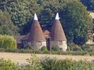 Kentish oast houses