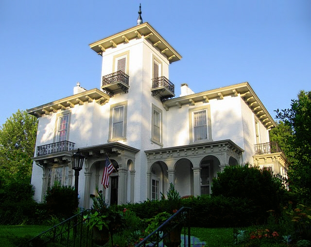 The lucas countyan downriver to keokuk for Italianate homes for sale
