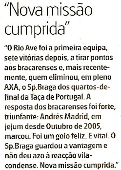 Destaque no Jornal de Notícias