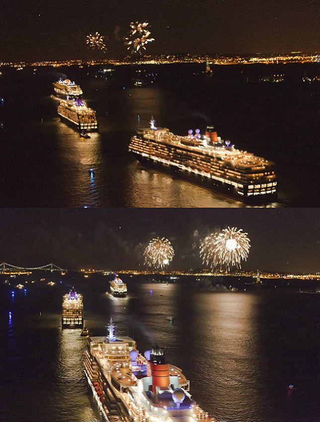 Pictures of The Royal Rendezvous (i.e. The 3 Queens) in NYC Last night.