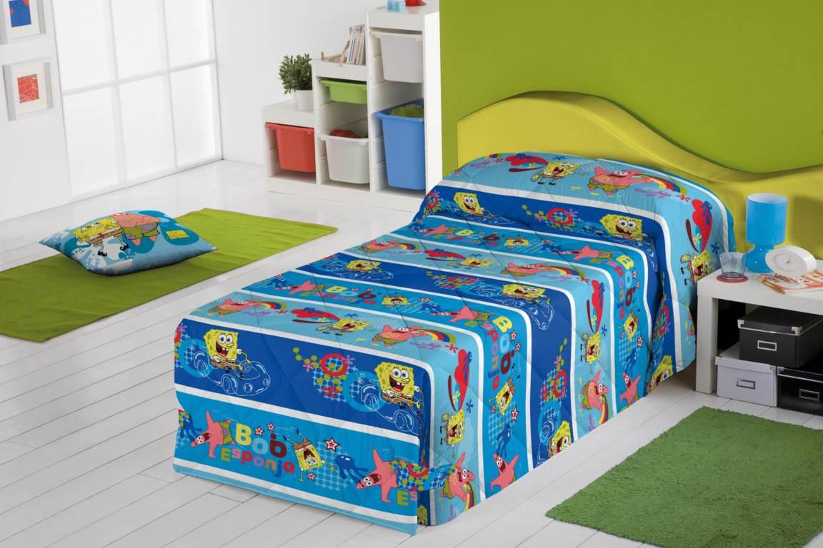 Cancion Infantil Baño De Burbujas:Habitación infantil Bob Esponja Burbujas – D'ORTE ZARAGOZA – cortinas
