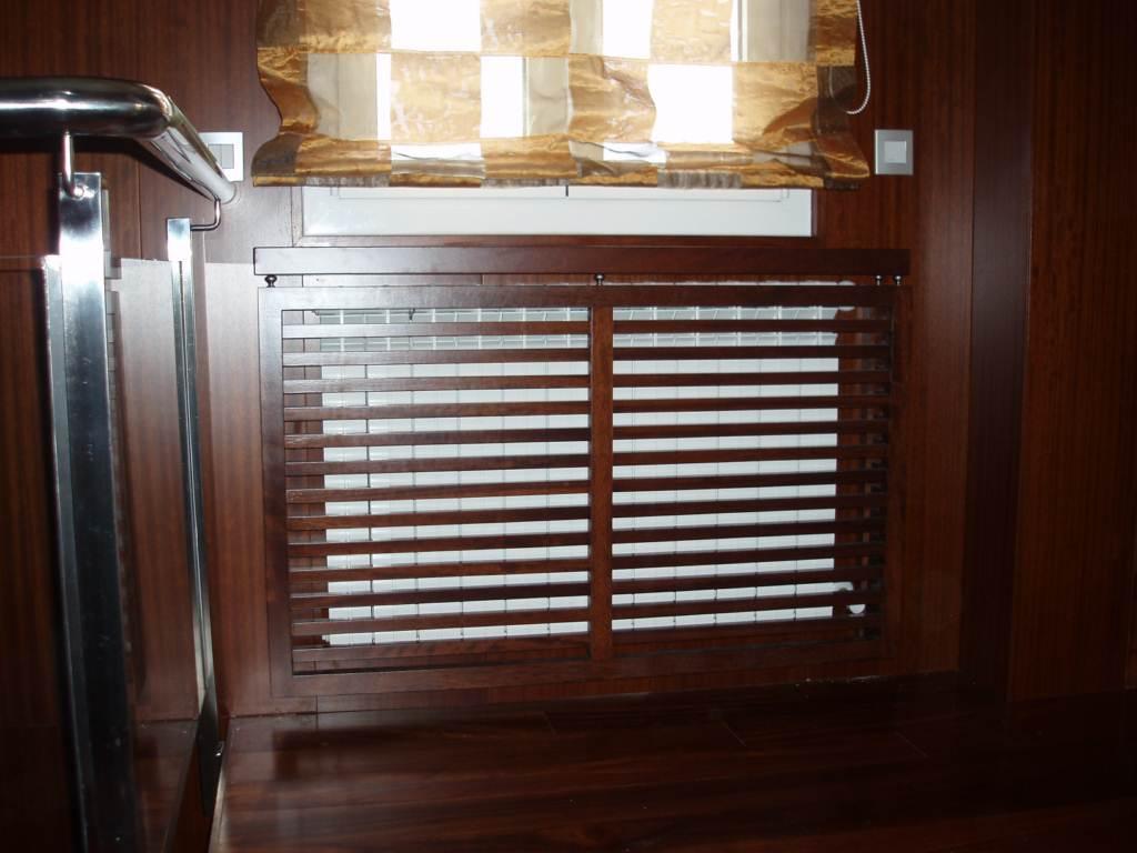 Cubreradiadores y estantes de pared muebles cansado for Instaladores aire acondicionado zaragoza