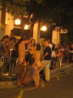Caught naked women