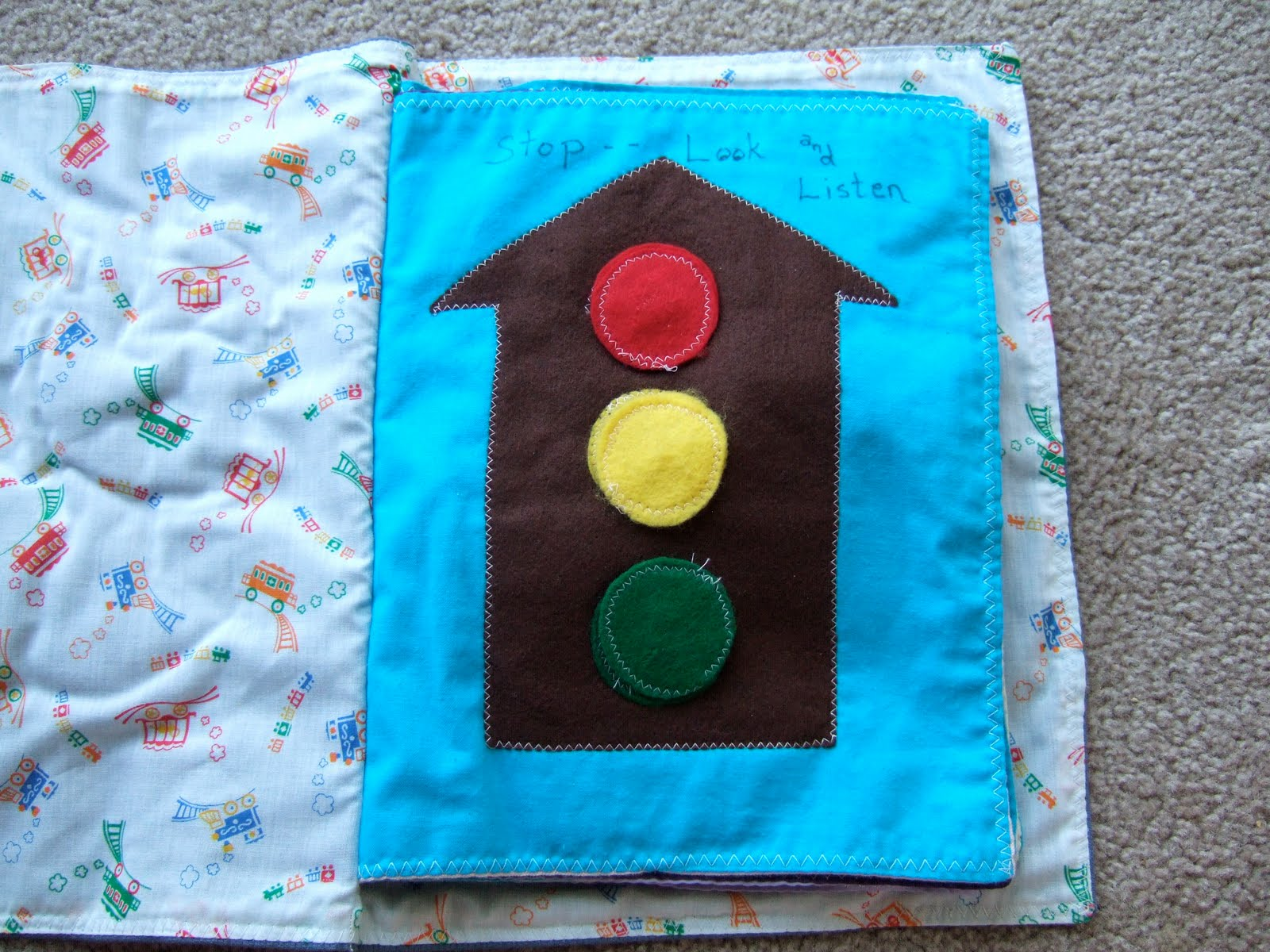 Homemade Baby Toys : Imaginative mom homemade baby toys sewn fabric learning