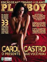 Carol Castro - Playboy de Agosto de 2008