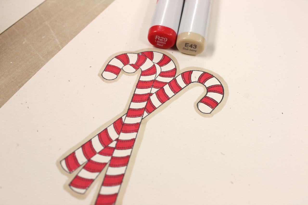 mish mash candy cane christmas