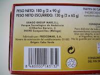 Filetes de caballa del sur en tomate HACENDADO | El blog de las marcas blancas (www.blog-marcas-blancas.blogspot.com)