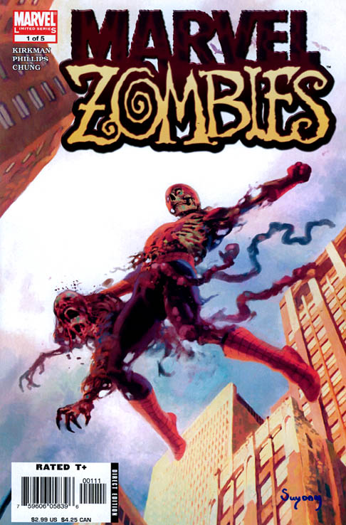 El Principisto: Marvel Zombies 1, 2, 3 y Marvel Zombies vs Army of ...