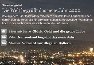 STERN: Die Welt begrüßt das neue Jahr 2200