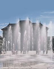 Wasserspiele Bundesplatz Bern