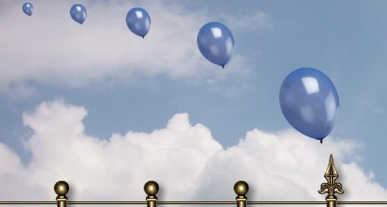 Auch Ballone leben gefährlich