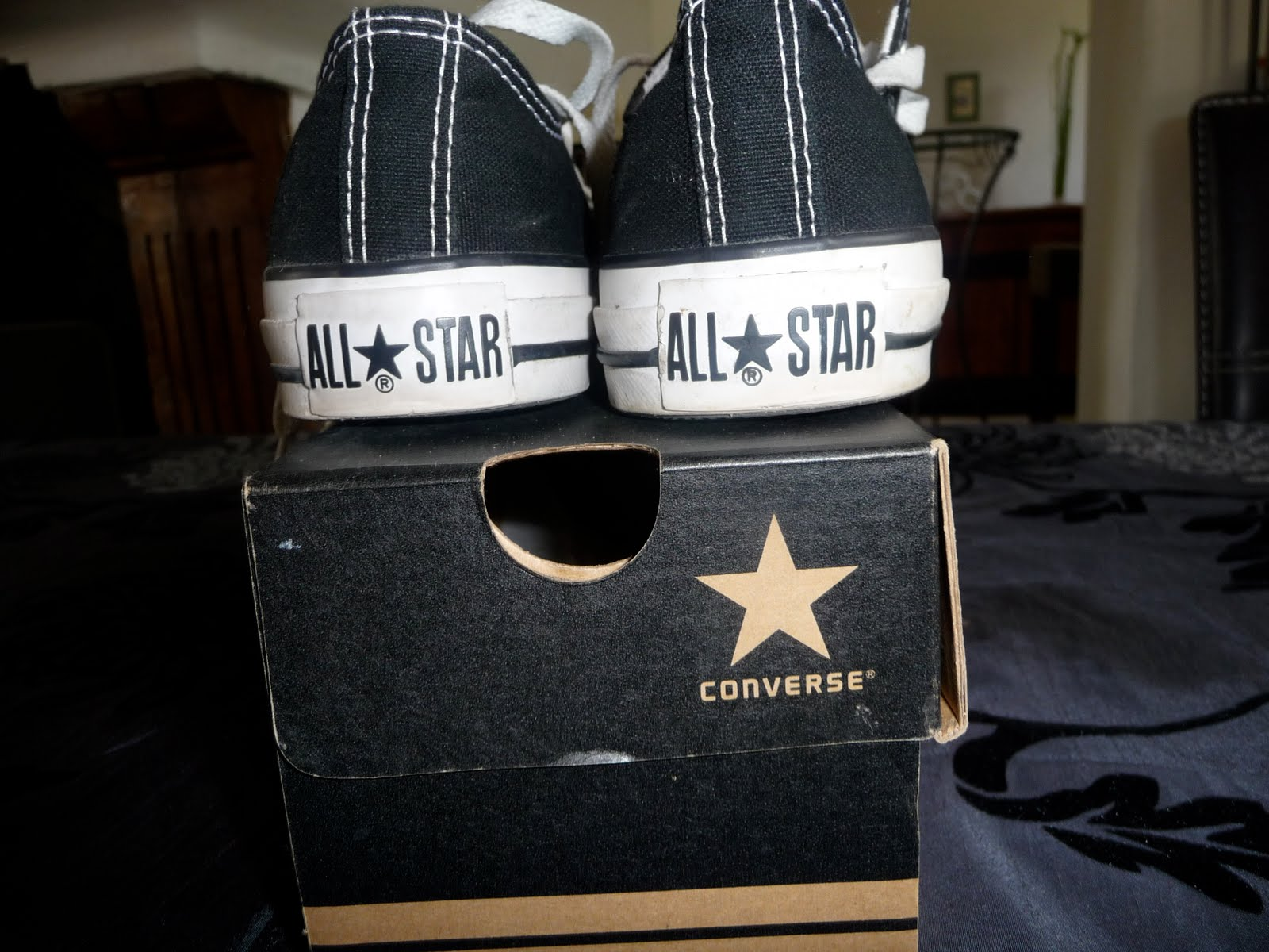 converse blanche vide dressing