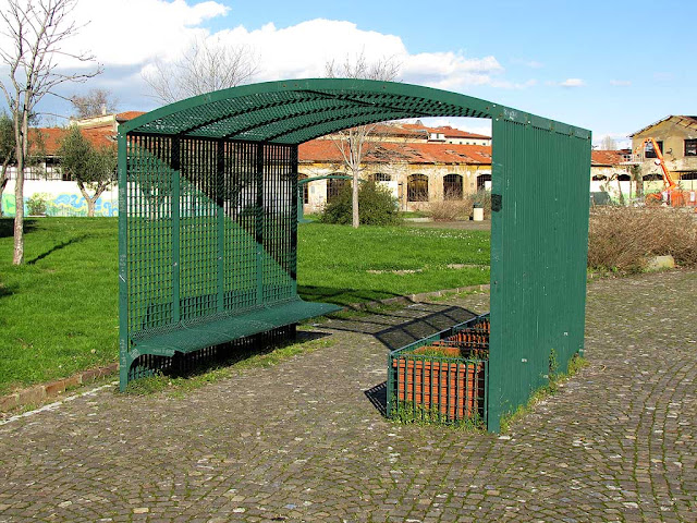 Covered bench, Parterre, Livorno