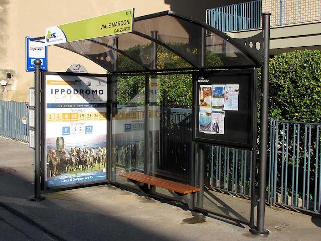 Bus bench, Viale Marconi, Livorno