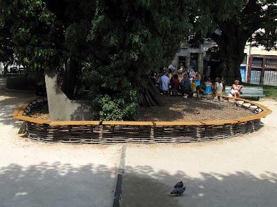 bench, Square René Viviani