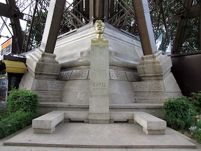 Monument to Gustave Eiffel by Antoine Bourdelle