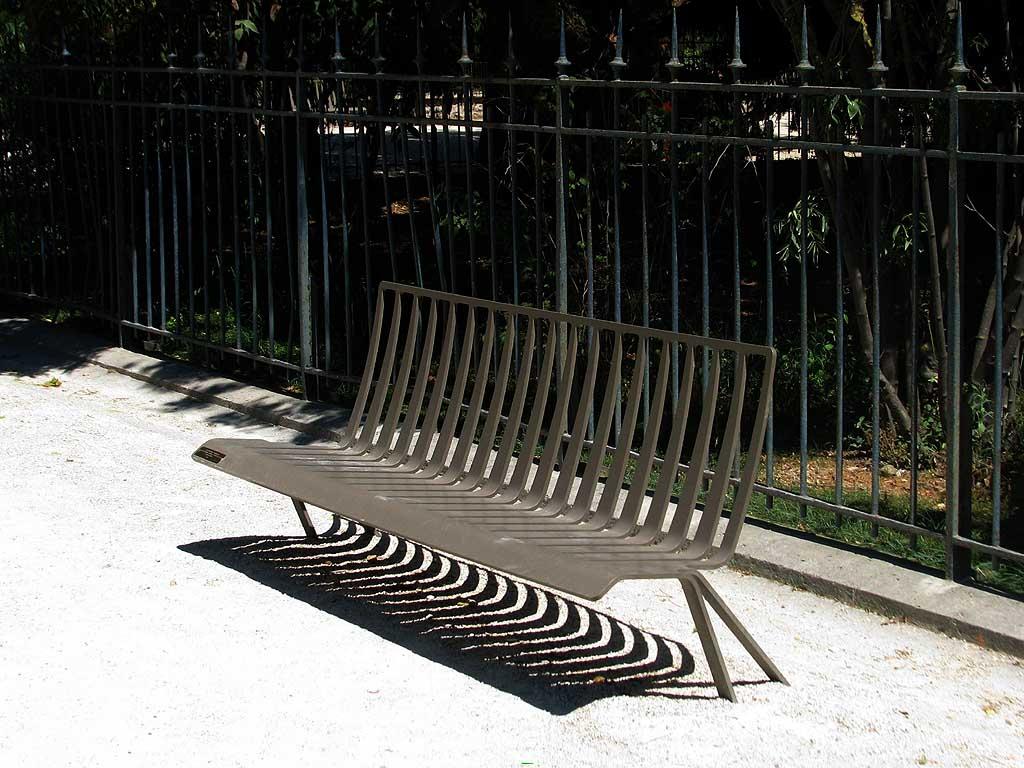 Bench, Jardin des Plantes, Paris