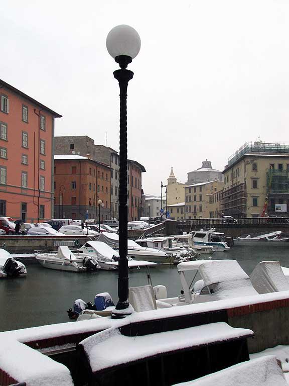 Boat-bench, Scali delle Ancore, Livorno