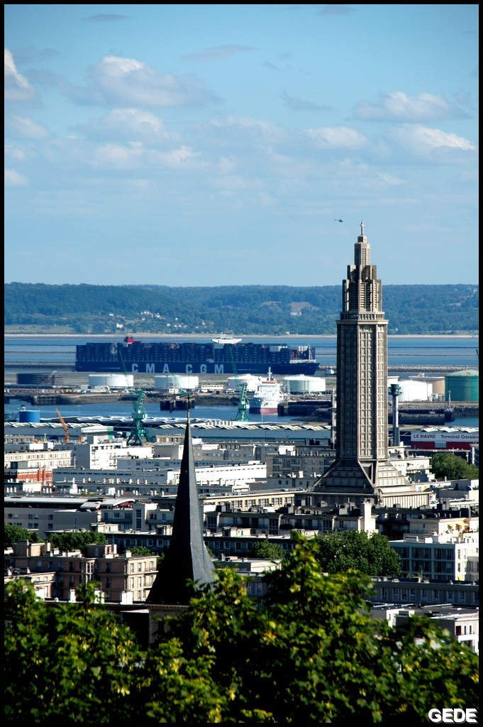 Baptême du plus grand porte-conteneurs de France DSC_0167D