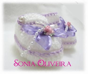 Sapatinho com lilás
