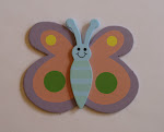 Pink/Purple Butterfly Bow Holder