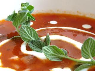מרק עגבניות קרם פרש