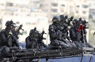 Special forces from the German rifle G-36C
