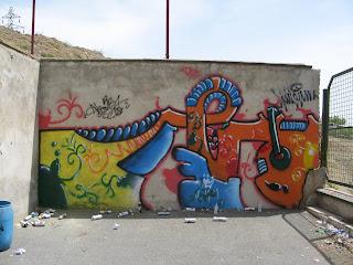 Mehr Graffiti