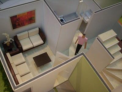 Maqueta de detalle de casa for Detalles de una casa
