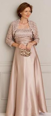 Vestidos elegantes para la mama de la novia
