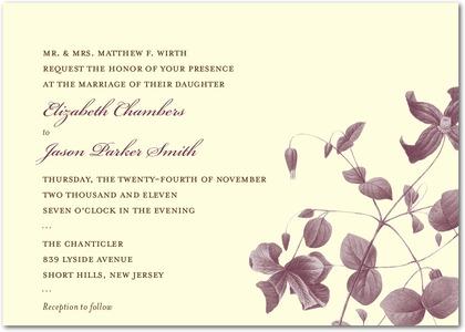 Invitaciones para matrimonio en el campo!