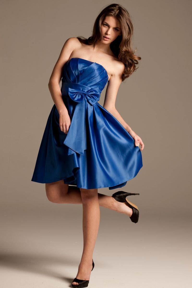Vestidos Azules Para Ir A Un Matrimonio