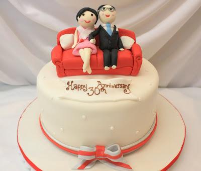 40th Anniversary Cake Cake Ideas and Designs