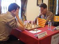 Miguel Illescas contra Josep Manuel López Martínez en la final del Campeonato de España de Ajedrez Absoluto 2007