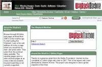 La historia de un dominio en registradores (Wayback Machine)