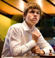 Carlsen quinto de la lista FIDE de ajedrez en abril de 2008